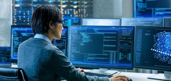 金融システムエンジニアイメージ